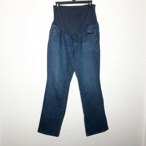 Old Navy Maternity Jeans 14 Regular Boot Cut